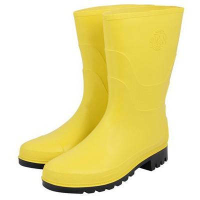 İş Koruma Pvc Sarı Çizme Ayakkabı & Çizme