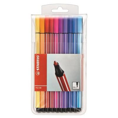 Stabilo Pen 68 20 Renk Askılı Paket Resim Malzemeleri