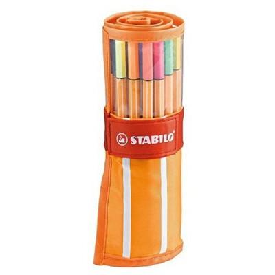 Stabilo Point 88 30 Renk Çantalı Set Resim Malzemeleri