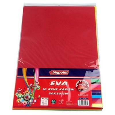 Bigpoint Eva 20x30 Karışık 10 Renk Resim Malzemeleri