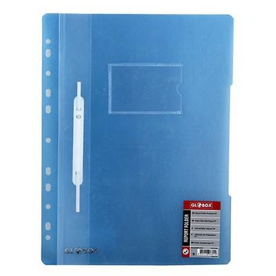 Globox Telli  Kartlı (6891) Mavi Dosya