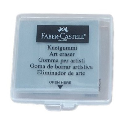 Faber Castell 1272 Plastik Kutulu Hamur Silgi Silgiler