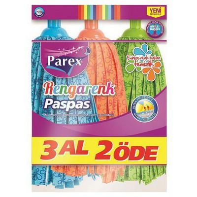 Parex Paspas Yedeği 3 Al 2 Öde Mop ve Aparatları