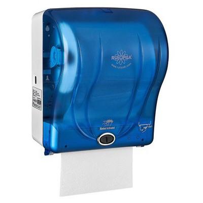 Rulopak Sensörlü Kağıt Havlu Makinesi Mavi 21 cm Model R-1301 Kağıt Havlu Dispenseri