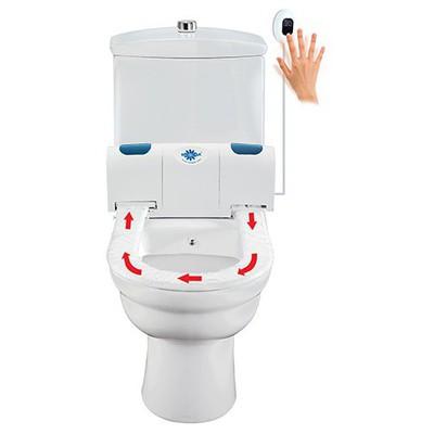 Rulopak Klozet Kapak Örtüsü Dispenseri Hijyenik Sensörlü Model R-1314 Klozet Dispenseri
