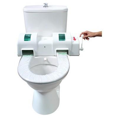 Rulopak Klozet Kapak Örtüsü Dispenseri Hijyenik Manuel Model R-1300 Klozet Dispenseri