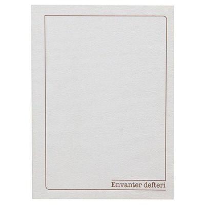 Bayındır Envanter Defteri 20x28 Cm 32 Yaprak Resmi Evrak