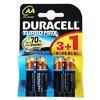 Duracell Aa Kalem Pil Alkalin Turbo Max 4 Adet Pil / Şarj Cihazı