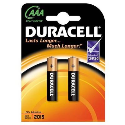 Duracell Alkalin Aaa Ince Kalem Pil 2'li