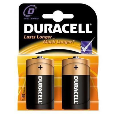 Duracell Büyük Boy Pil D Alkalin 2 Adet Pil / Şarj Cihazı