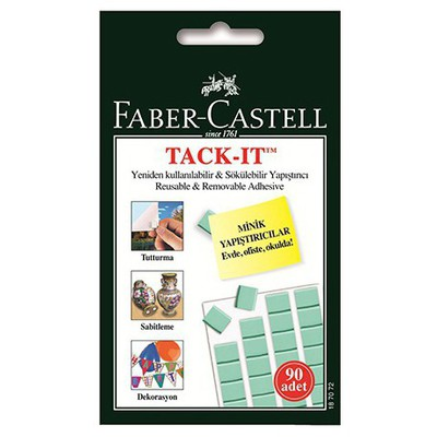 Faber Castell Tack-ıt Yeşil  50 Gr Yapıştırıcı