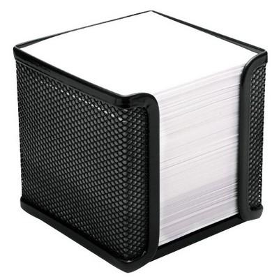 MAS 855 Perfore Küp Blok- Notluk-siyah Organizer