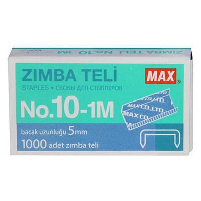 """MAX Zımba Teli No:10 (10-1m) 1000""""li Zımba Telleri"""
