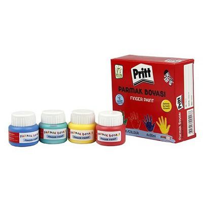 Pritt Parmak Boyası 4 Renk X 30 Ml Resim Malzemeleri