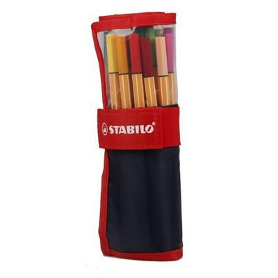 Stabilo Point 88 25 Renk Çantalı Set Resim Malzemeleri