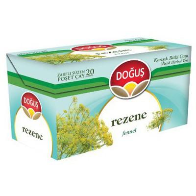Doğuş Bardak Poşet Çay Rezene Aromalı 20 Adet Bitki Çayı