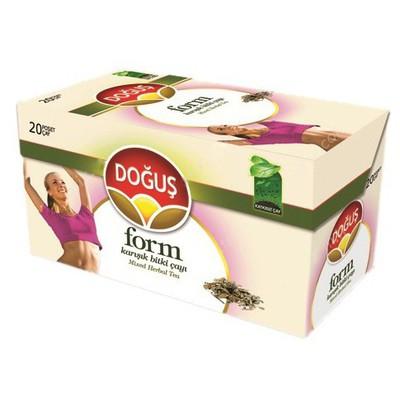 Doğuş Form Bardak Poşet  20 Adet Bitki Çayı