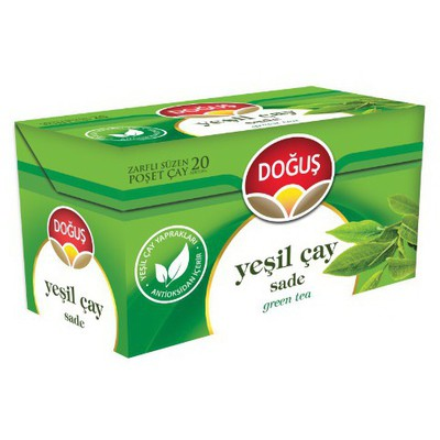 Doğuş Bardak Poşet Yeşil Çay 20 Adet Bitki Çayı