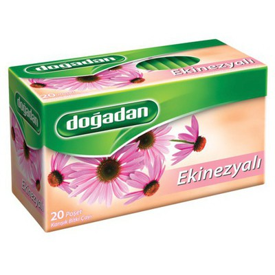 Dogadan Bardak Poşet Çay Ekinezya Aromalı 20 Adet Bitki Çayı