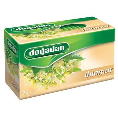 Dogadan Bardak Poşet Çay Ihlamur 20 Adet Bitki Çayı