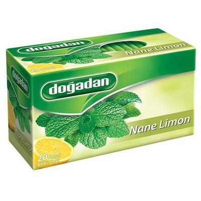 Dogadan Bardak Poşet Çay Nane Limon Aromalı 20 Adet Bitki Çayı