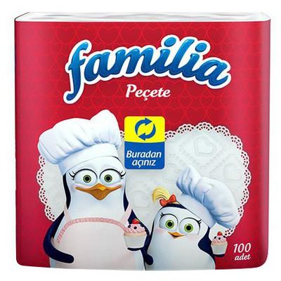 Familia 100 Adet Peçete