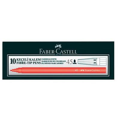Faber Castell 45 Keçeli Kalem 10'lu Resim Malzemeleri
