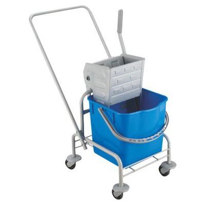 Uctem-Plas Metal Presli Tek Kovalı Temizlik Seti Kova ve Temizlik Setleri