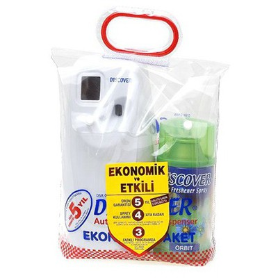 Discover Koku Makinesi Eko Paket + Oda Kokusu 320 ml Koku & Aparat