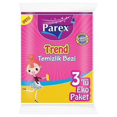 Parex Trend Temizlik Bezi 3'lü Eko Paket