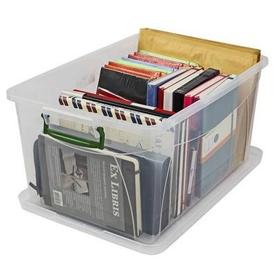 Hi-Pas Plastik Kapaklı Saklama Kutusu 5 lt Saklama Kabı