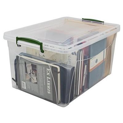 Hi-Pas Plastik Hi-paş Saklama Kutusu Plastik Kapaklı 17 L Saklama Kabı
