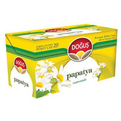 Doğuş Bardak Poşet  Papatya Aromalı 20 Adet Bitki Çayı