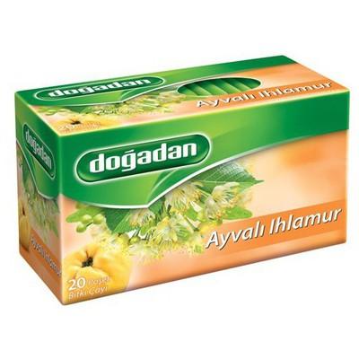 Dogadan Poşet Çay Ayva Ihlamur Aromalı 20 Adet Bitki Çayı
