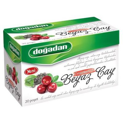 Dogadan Beyaz Poşet Çay Yaban Mersini Aromalı 20 Adet