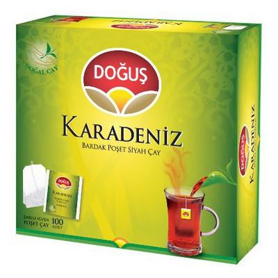 Doğuş Karadeniz Poşet Çay Bergamot Aromalı 100 Adet