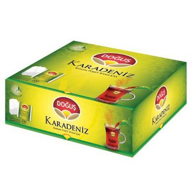 Doğuş Karadeniz Bardak  Bergamot Aromalı 100 Adet Poşet Çay