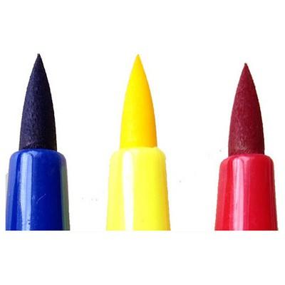 Monami Fırça Uçlu Keçeli Kalem 12 Renk Resim Malzemeleri