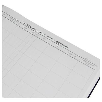 Bayındır Hasta Protokol Kayıt Defteri 192 Yaprak Ciltli Resmi Evrak