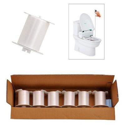 Rulopak Klozet Kapağı Rulosu Hijyenik Sensörlü 12 Adet Model R-2201 Klozet Dispenseri