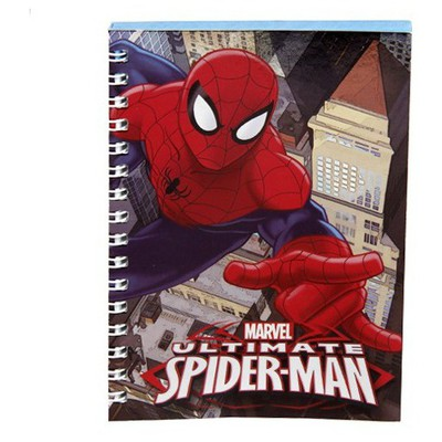 keskin-color-spider-man-a6-80-yp-metalize-bloknot