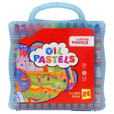 Monami Lucky Prince 24 Renk Çantalı Pastel Boya Resim Malzemeleri