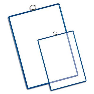 Tarifold Askılı Poşet A3 Dikey 5'li Şeffaf/mavi Çerçeveli Sunum Ürünleri
