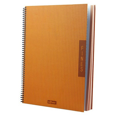 Le Color Fines Spiralli A4 100 Yaprak Çizgili Defter