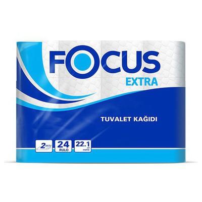 Focus Extra  2 Katlı 24 Rulo Tuvalet Kağıdı