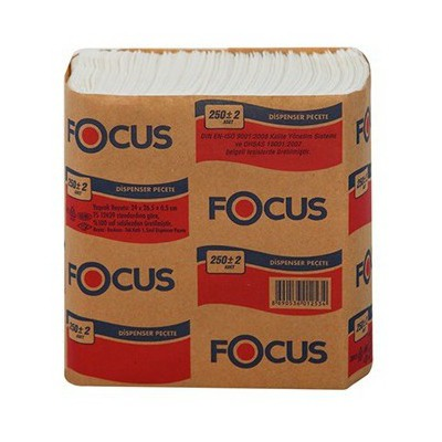 Focus Dispenser Peçete 250'lik 18 Paket
