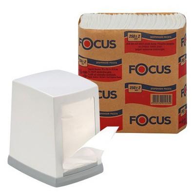 Focus Dispenser  250 Yaprak 18 Adet Peçete