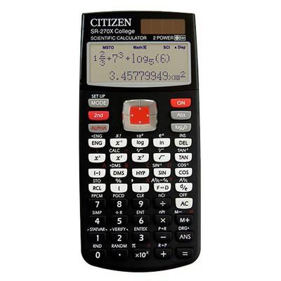 Citizen Bilimsel  (sr-270x) Hesap Makinesi