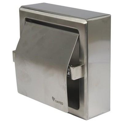 Dayco Tuvalet Kağıt Dispenseri Tekli Rulo Paslanmaz Çelik 304 Kalite Tuvalet Kağıdı Dispenseri