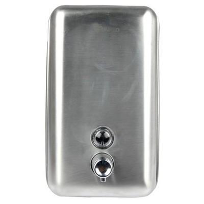 Dayco Sıvı Sabunluk Paslanmaz Çelik Dikey Duvara Montajlı Sabun Dispenseri